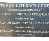 Lutengo Literacy Center Dedication