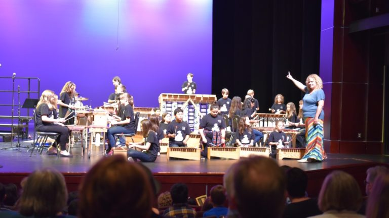 Elementary Students Hold 10th Annual Benefit Concert for Sister Schools